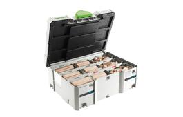 DOMINO XL beechwood assortment DS/XL D8/D10 306x BU for DOMINO XL DF 700 joining machine