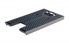 Dimpled base plate for PS 400, PSB 400, PSBC 400, PSC 400, PS 420, PSB 420, PSC 420, PSBC 420