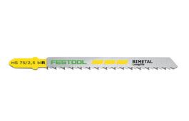 Jigsaw Blade HS 75/2.5 BI R for PS 300, PS 400, PSB 300, PSB 400, PSBC 400, PSC 400, PS 420, PSB 420, PSC 420, PSBC 420
