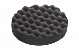 Polishing Sponge Black Honeycombed