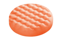 Polishing Sponge Orange Waffle Face