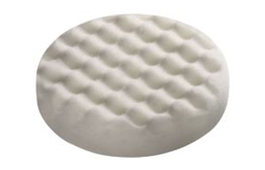 Polishing Sponge 125x20mm white, fine honeycombed for RO 125