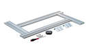 Multifunction System 700mm Routing Template for for all routers with copying ring, for rectangular max. 600 x 300 mm or curved max. Ø 1200 mm cut-outs