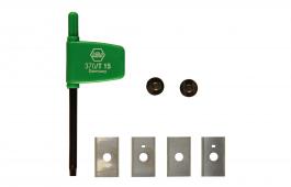 Replacement Blade for Carbide Water Gutter Cutter, 20 mm NL HW-WP 20x12x1,5 (4x)