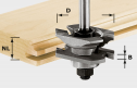Profile/Groove Cutter, 8mm Shank HW S8 D46 x D12-NT for CMS Basic Unit, CMS BS 120, CMS OF 1400, CMS OF 2200, CMS PS 400, CMS TS 55, CMS TS 75