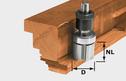 Rebatting Cutter HW D30x21/KL