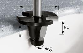 Reservoir Cutter, 12mm Shank