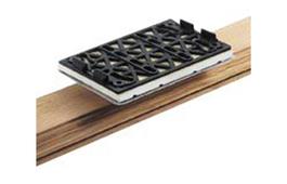 Flat Stickfix Backing Pad 80mm x 130mm for LS 130
