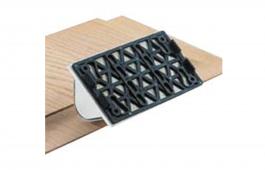 10mm Radius Convex Stickfix Backing Pad 80mm x 130mm  for LS 130
