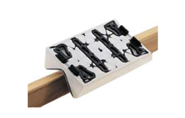 10mm Radius Stickfix Backing Pad 80mm x 130mm for LS 130