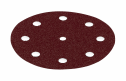 Rubin Abrasive Disc 125mm 9 Hole