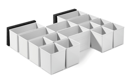Box inserts for SYS COMBI 60x60 and 120x71mm for SYS-Combi 2, SYS-Combi 3 and SYS 4 TL-SORT/3