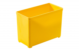 Plastic Container for T-Loc 49mm x 98mm - Yellow
