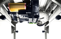 CS 70 PRECISIO 225mm Table Saw inner workings