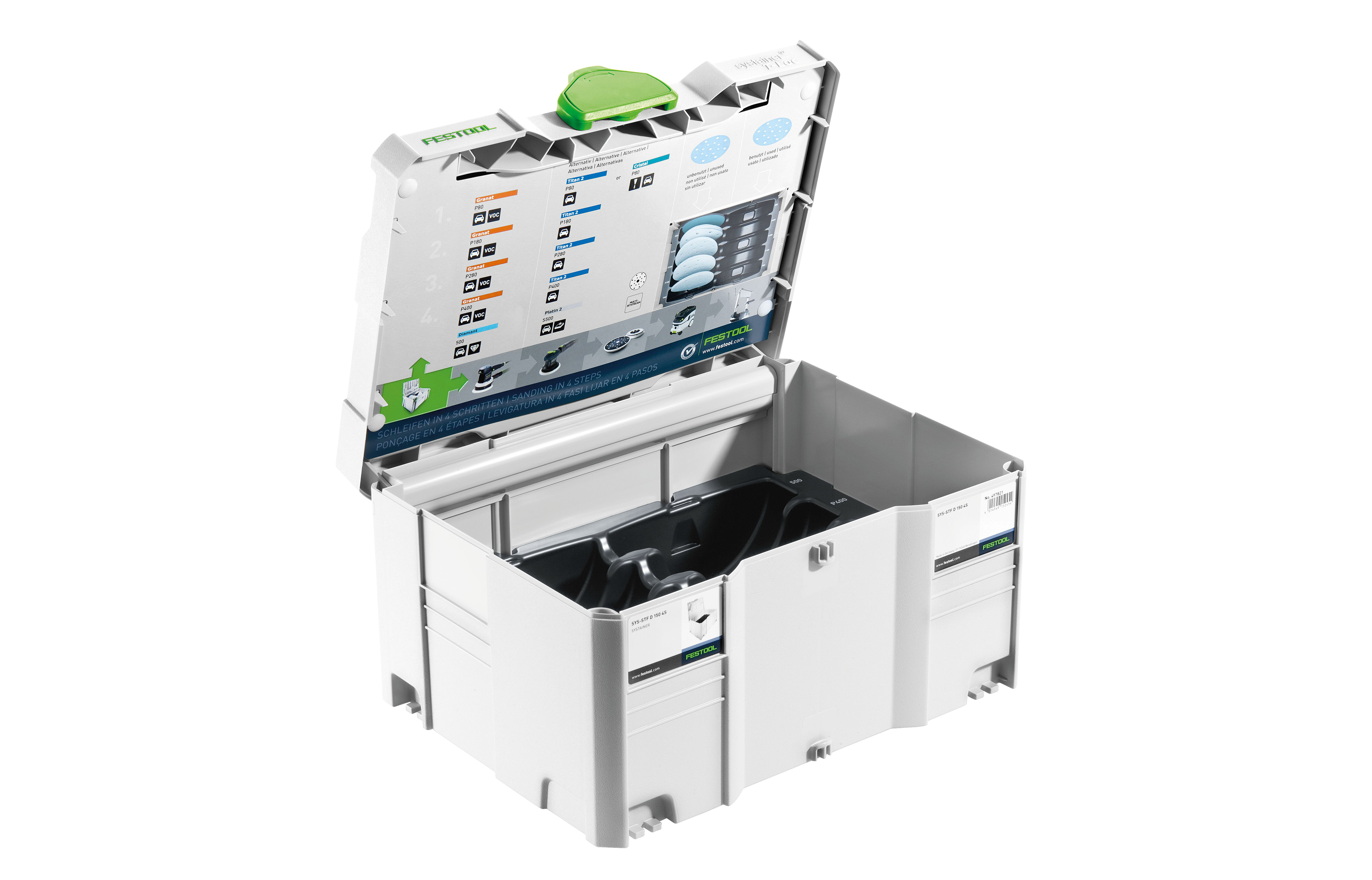 Festool Systainer Sys 3 T Loc For 150 Mm Abrasives