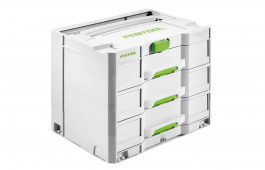 Sortainer T-Loc 3 drawer storage box