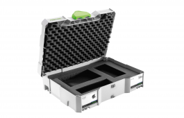 Systainer SYS 1 T-Loc Diced Foam Storage Box