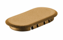 Domino XL Cap Light Brown Connector