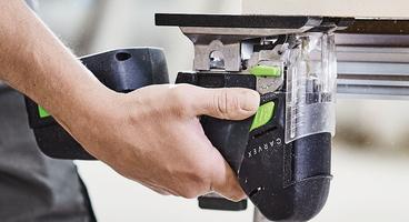 PSBC 420 Cordless D Handle Jigsaw