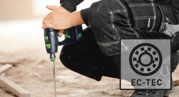C 18 Cordless Drill with EC-TEC brushless motor