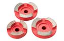RGP 3 Abrasive Diamond Grinding Disc Set