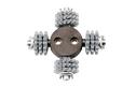 machine/tool head SZ-RG 80 for RG 80, RGP 80