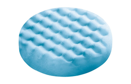 Polishing Sponge Blue Honeycombed