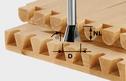 Steel Dovetail Cutter 8mm Shank for VS 600