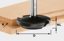 Facing Cutter, 8mm Shank HW D42,7/13/R6