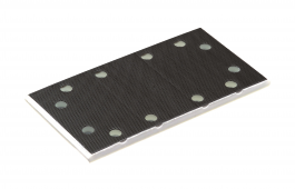 Rubber Backing Pad 8 Holes 93mm x 175mm  for LRS 93, RS 3, RS 300