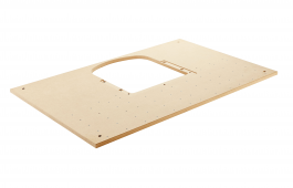 Perforated Timber top for MFT 3 for KA 65 Edge Bander