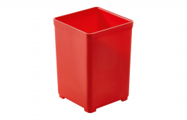 Plastic Container for T-Loc 49mm x 49mm - Red for SYS 1 T-LOC Systainer