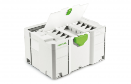 Systainer 3 T-Loc Storage Box with lid compartment
