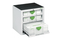 SYS-PORT 3 Drawer Mobile Systainer Storage