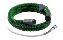 2 in 1 Air & extraction Anti-static Hose 7.0m