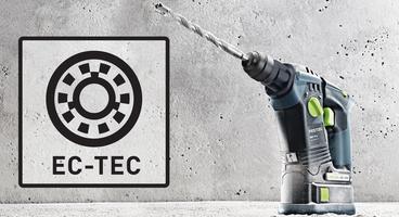 BHC 18V EC-TEC motor