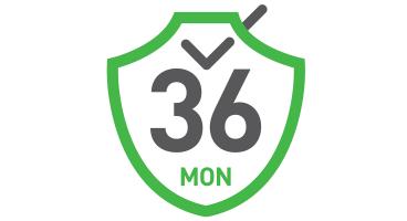 36 Month Warranty